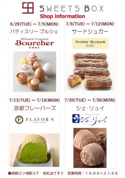 SWEETS BOX:Shop information